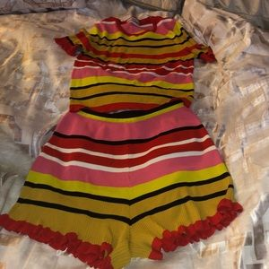 Zara short set outfit